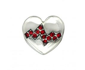 """Přívěsek na náramek """"Heart of Life"""" 925 Sterlingové stříbro"""