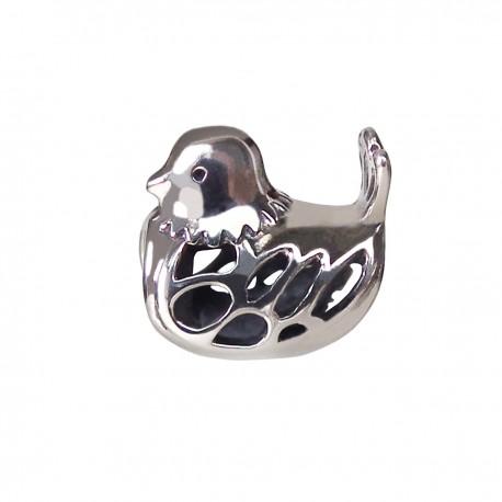 """Přívěsek na náramek """"Cute Duck"""" 925 Sterlingové stříbro"""
