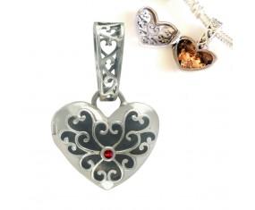"""Přívěsek na náramek """"Secret Heart"""" 925 Sterlingové stříbro"""