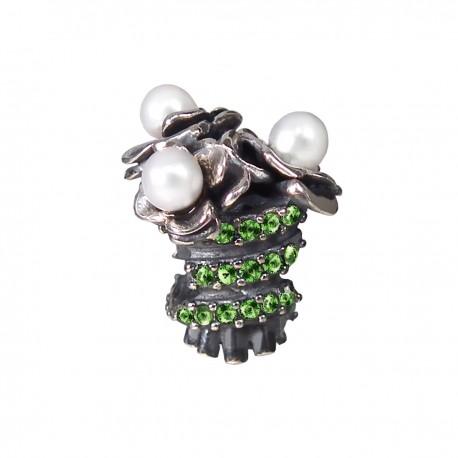 """Přívěsek na náramek """"Flower Dream"""" 925 Sterlingové stříbro"""