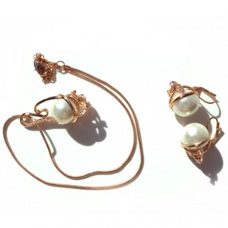 Set náhrdelník a náušnice