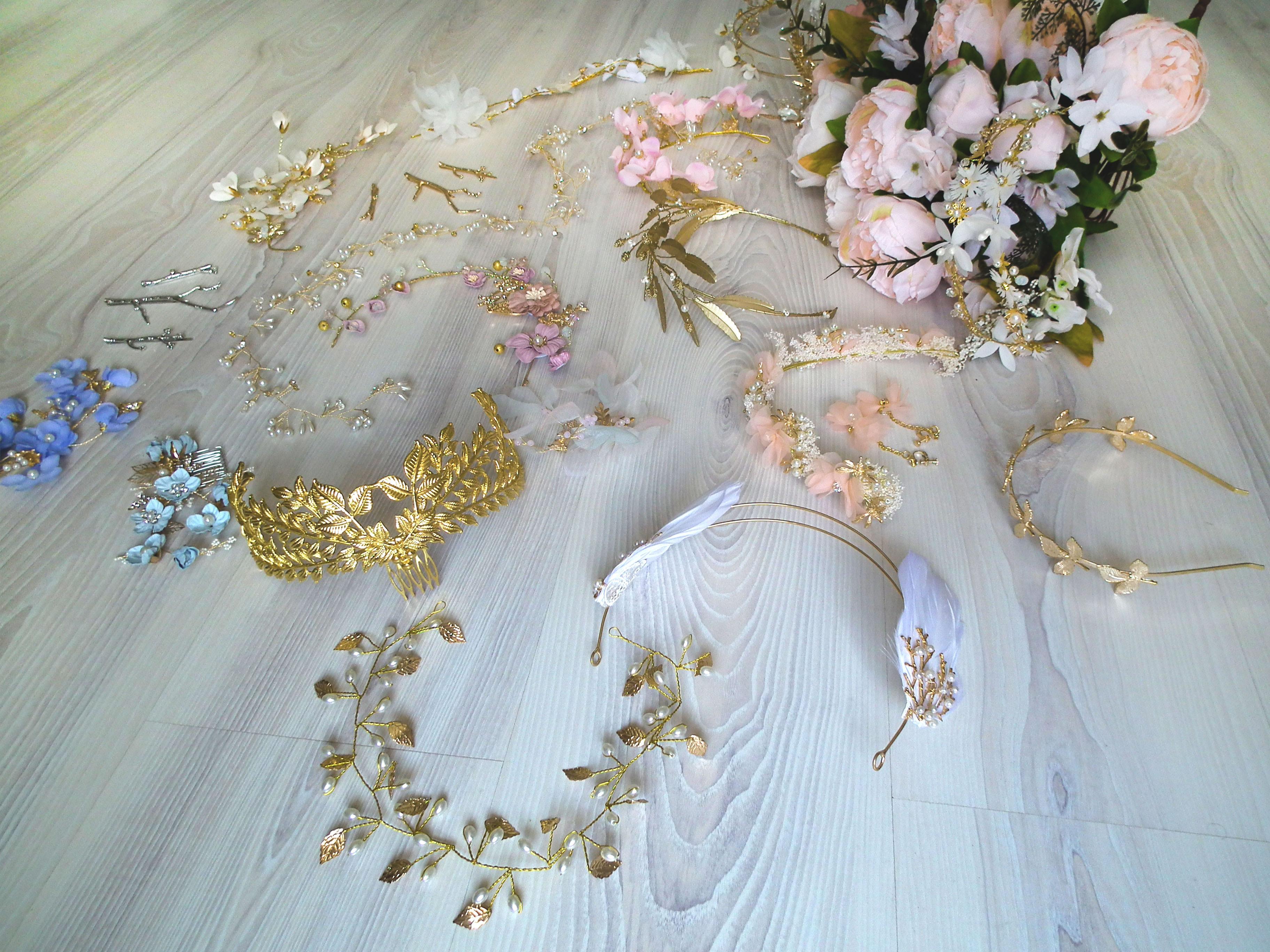 Ozdoby do vlasů pro nevěstu