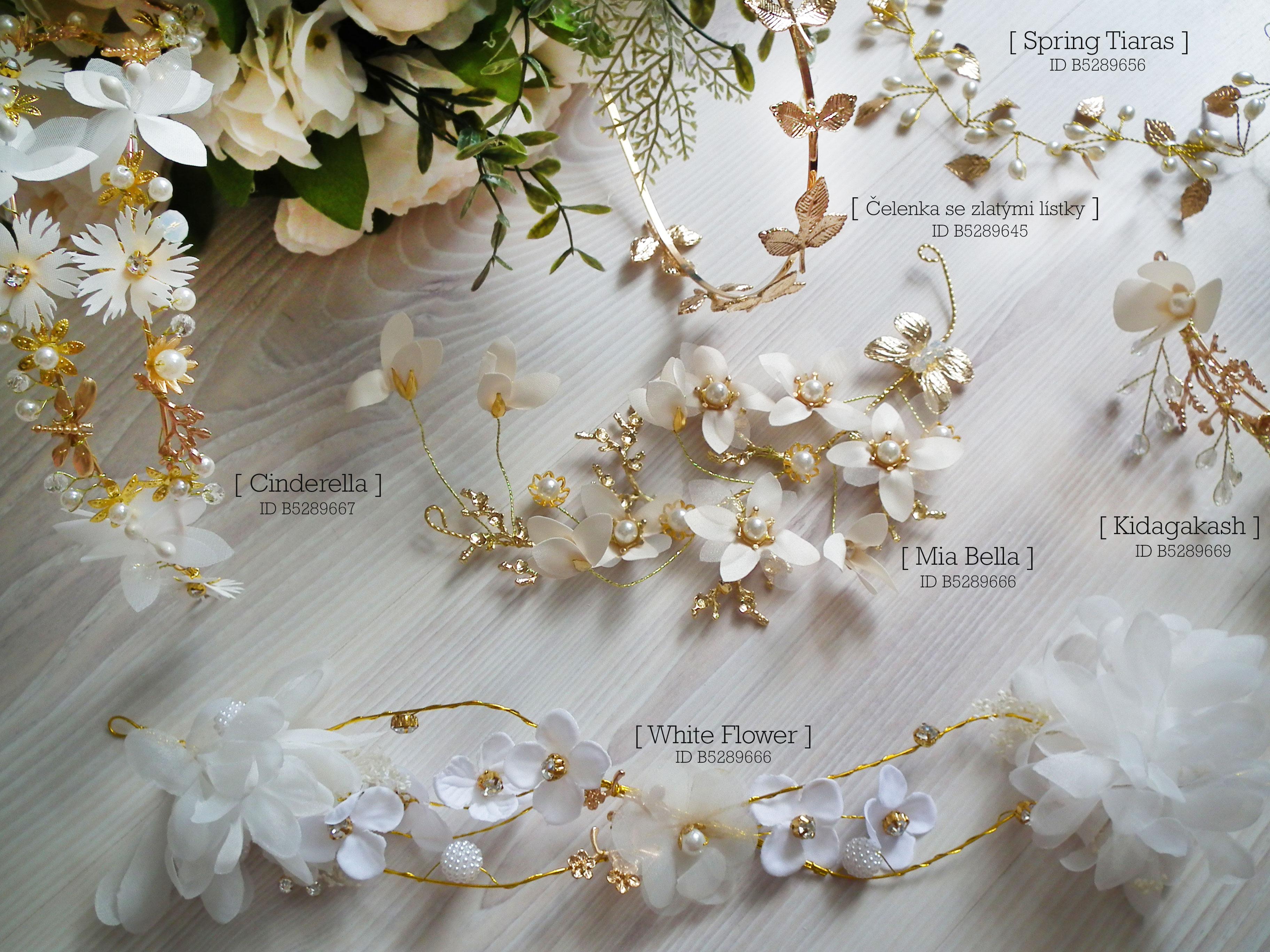 Svatební ozdoby do vlasů 67efc43269
