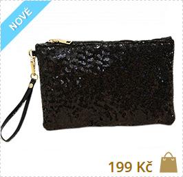 čierna kabelka do ruky