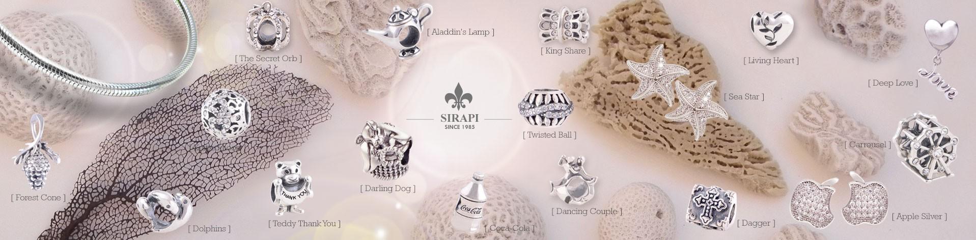 Přívěsky stříbro 925 - SIRAPY collection